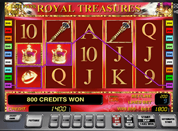 Royal Treasures на зеркале клуба